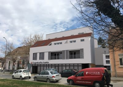 Poslovno stambena zgrada Koprivnica